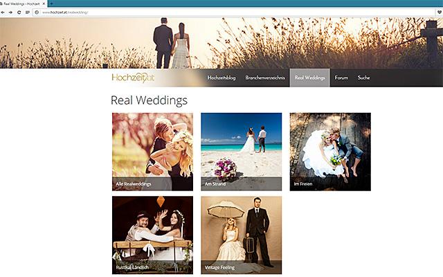 Real Weddings - hochzeit.at