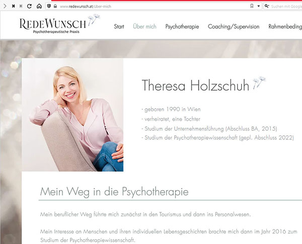 Theresa Holzschuh - www.redewunsch.at